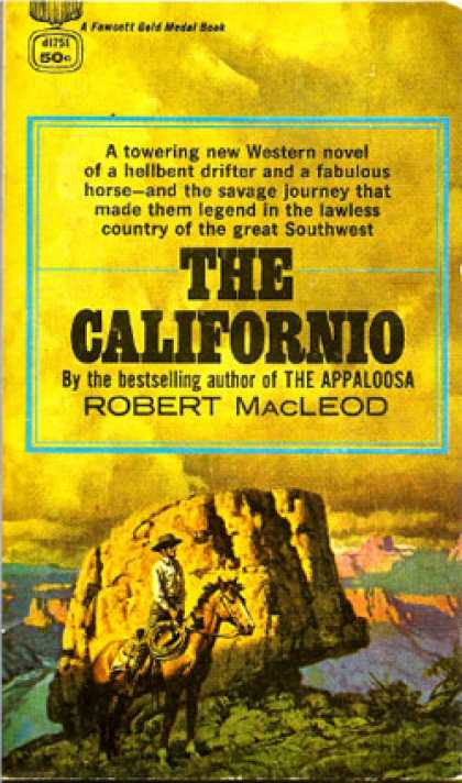 Gold Medal Books - Californio - Robert Macleod