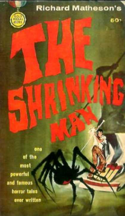 Gold Medal Books - The Shrinking Man - Richard Matheson
