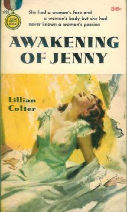 Gold Medal Books - Awakening of Jenny - Lillian Colter