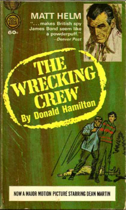 Gold Medal Books - The Wrecking Crew