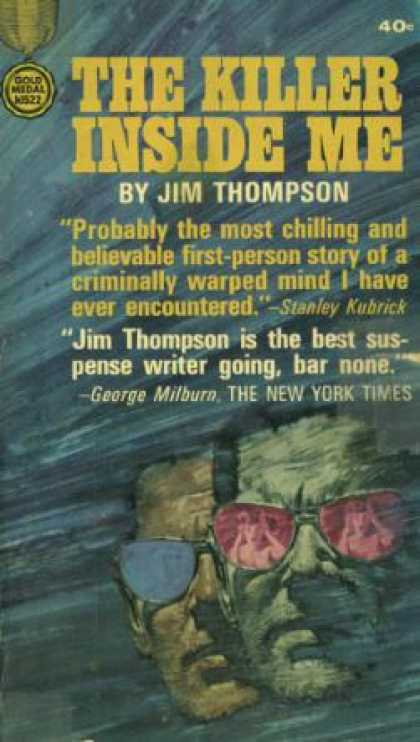 Gold Medal Books - The Killer Inside Me - Jim Thompson
