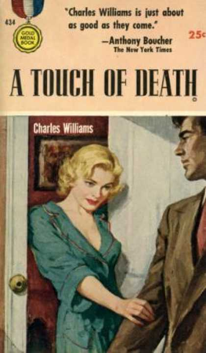 Gold Medal Books - Touch of Death - Charles Williams