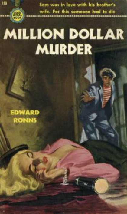 Gold Medal Books - Million Dollar Murder - Edward Ronns