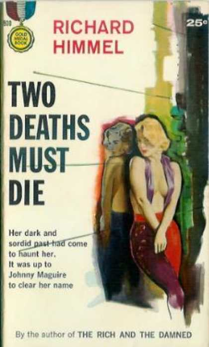 Gold Medal Books - Two Deaths Must Die - Richard Himmel