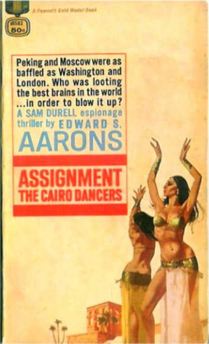 Gold Medal Books - Assignment the Cairo Dancers - Edward S. Aarons