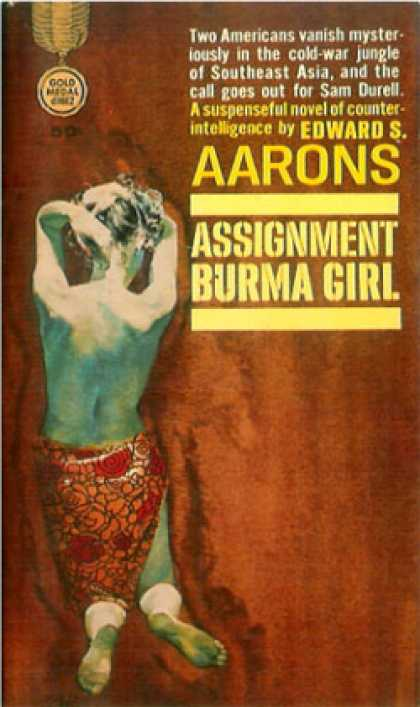 Gold Medal Books - Assignment Burma Girl - Edward S. Aarons
