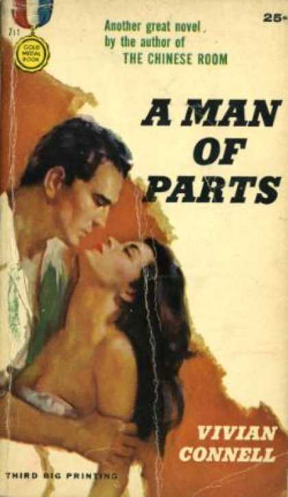 Gold Medal Books - A Man of Parts - Vivian Connell