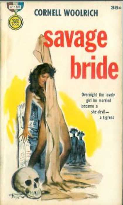 Gold Medal Books - Savage Bride