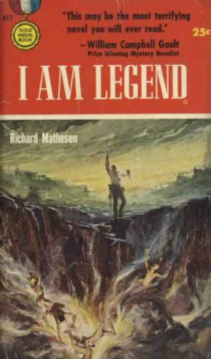 Gold Medal Books - I Am Legend - Richard Matheson