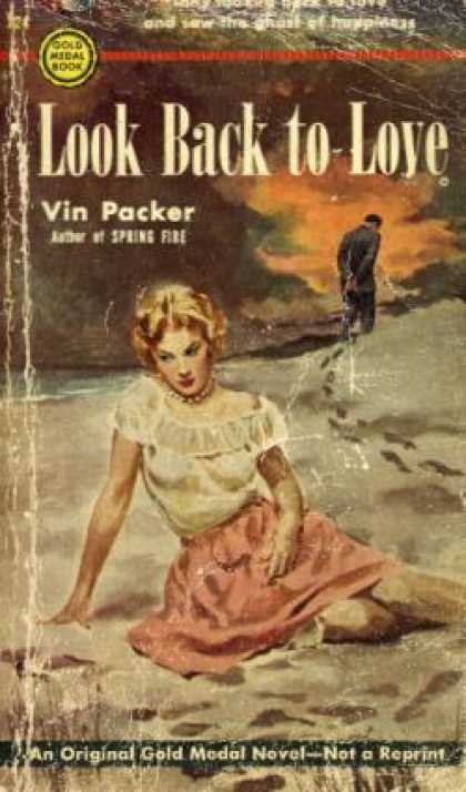 Gold Medal Books - Look Back To Love - Vin Packer