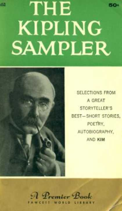 Gold Medal Books - The Kipling Sampler: Selections From a Great Storyteller's Best - Rudyard Kiplin