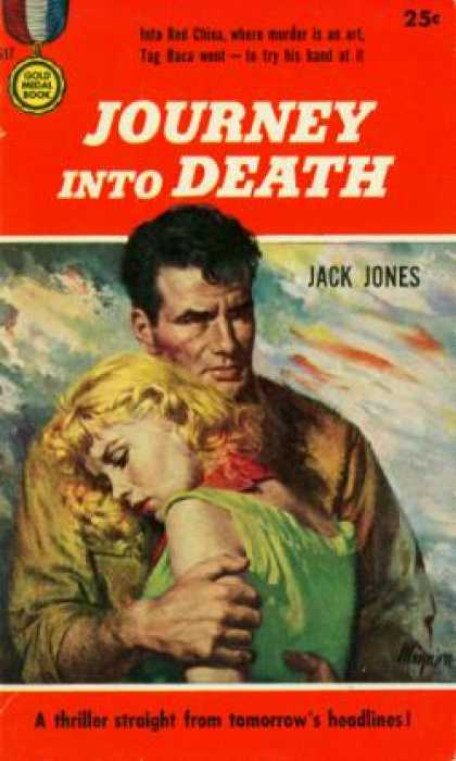 Gold Medal Books - Journey Into Death - Jack Jones
