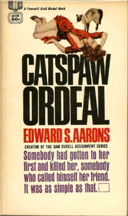Gold Medal Books - Catspaw Ordeal