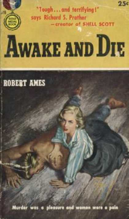 Gold Medal Books - Awake and Die