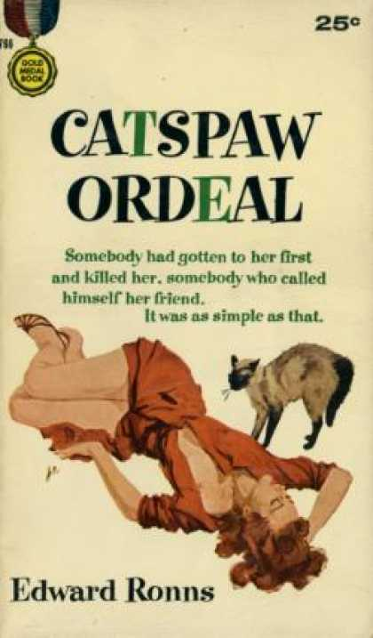 Gold Medal Books - Catspaw Ordeal - Edward Ronns