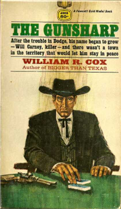 Gold Medal Books - Gunsharp - William R. Cox