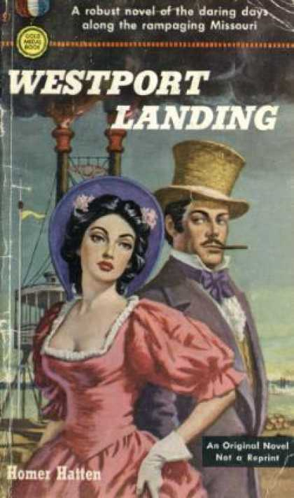 Gold Medal Books - Westport Landing - Homer Hatten