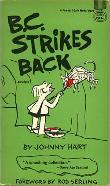 Gold Medal Books - Bc Strikes Back - Johnny Hart