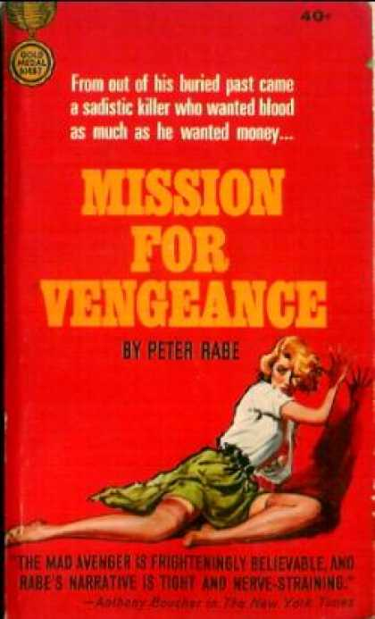 Gold Medal Books - Mission for Vengeance