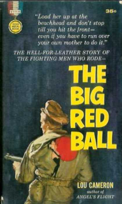 Gold Medal Books - The Big Red Ball
