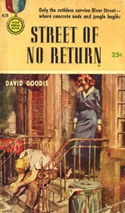 Gold Medal Books - Street of No Return - David Goodis