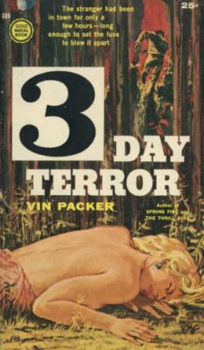 Gold Medal Books - 3 Day Terror - Vin Packer