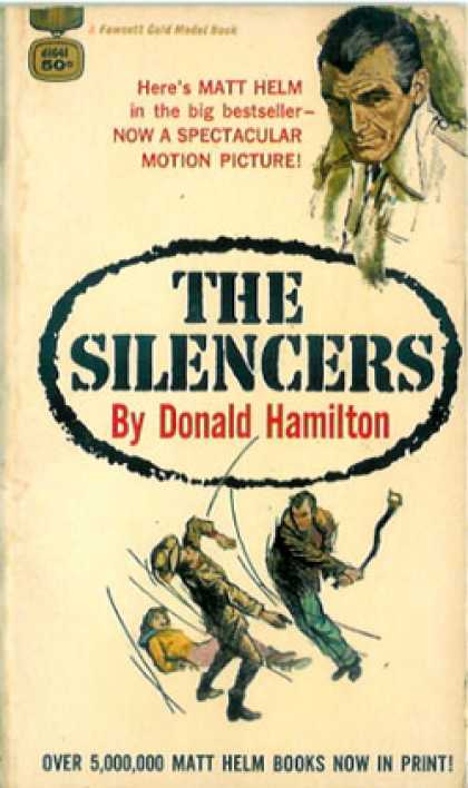 Gold Medal Books - The Silencers - Donald Hamilton