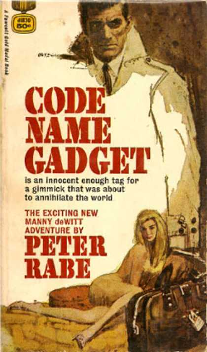 Gold Medal Books - Code Name Gadget