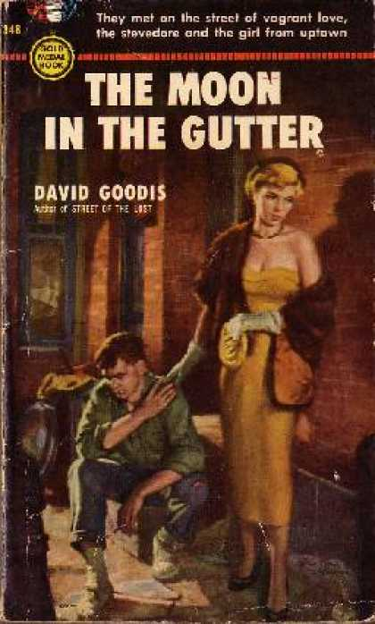Gold Medal Books - Moon In the Gutter, the - David Goodis