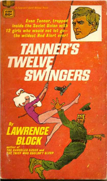 Gold Medal Books - Tanners Twelve Swingers