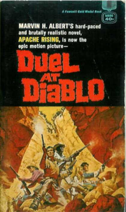 Gold Medal Books - Duel at Diablo - Movie Poster - 11 X 17
