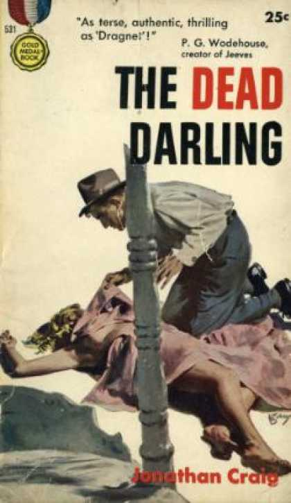 Gold Medal Books - The Dead Darling
