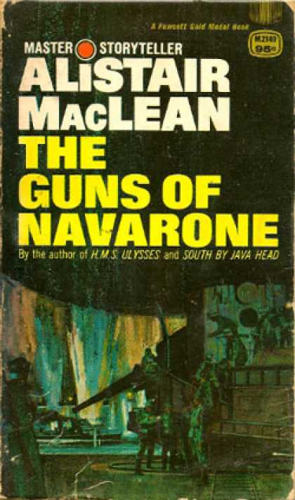 Gold Medal Books - The Guns of Navorone