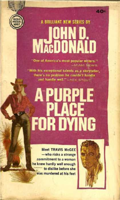 Gold Medal Books - A Purple Place for Dying