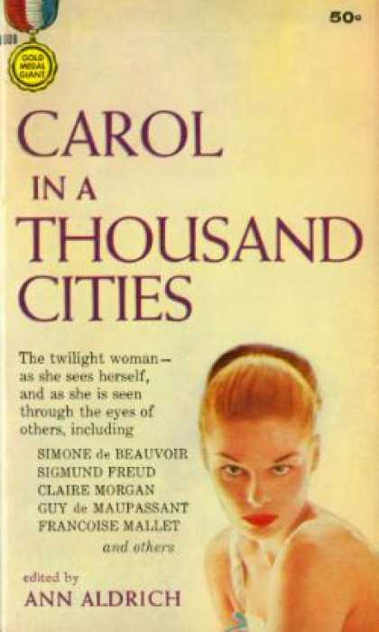 Gold Medal Books - Carol In a Thousand Cities - Ann Aldrich