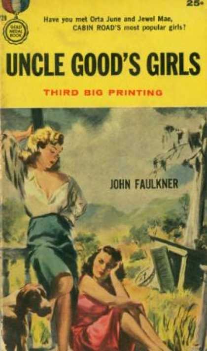 Gold Medal Books - Uncle Goods Girls - John Faulkner