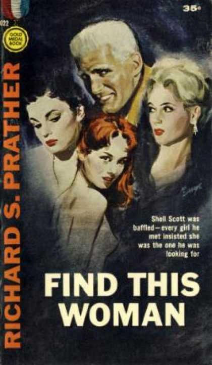 Gold Medal Books - Find This Woman - Richard S. Prather