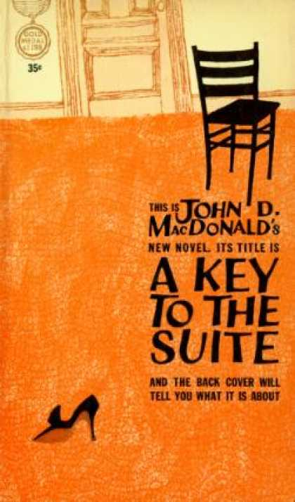 Gold Medal Books - A Key To the Suite - John D.macdonald