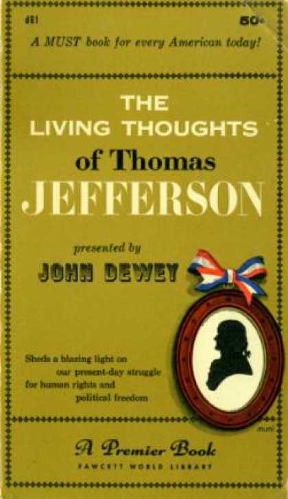 Gold Medal Books - The Living Thoughts of Thomas Jefferson