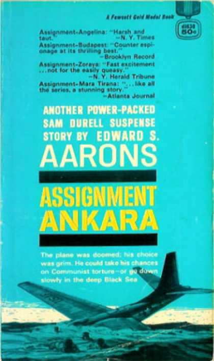 Gold Medal Books - Assignment Ankara - Edward S. Aarons
