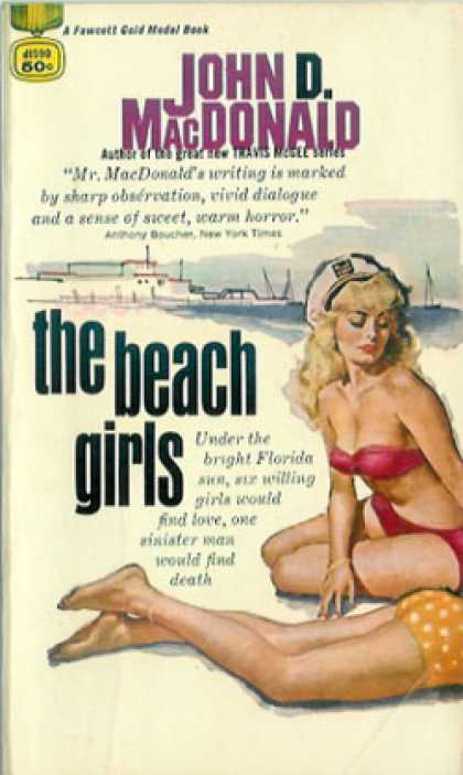 Gold Medal Books - The Beach Girls - John D. Macdonald