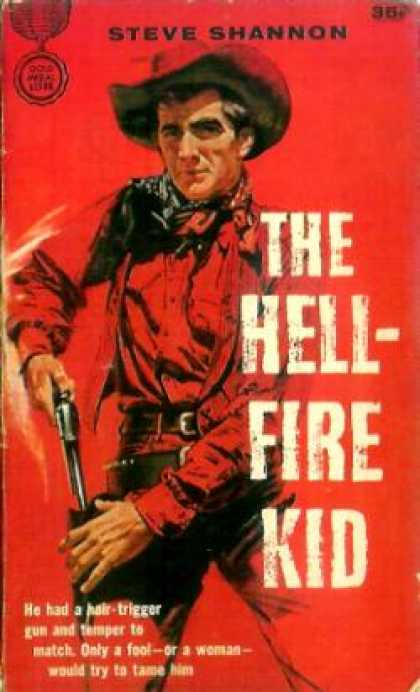 Gold Medal Books - Hell-fire Kid