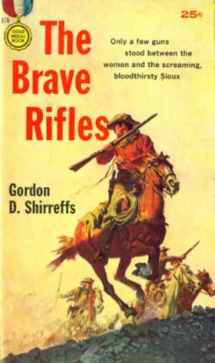 Gold Medal Books - The Brave Rifles