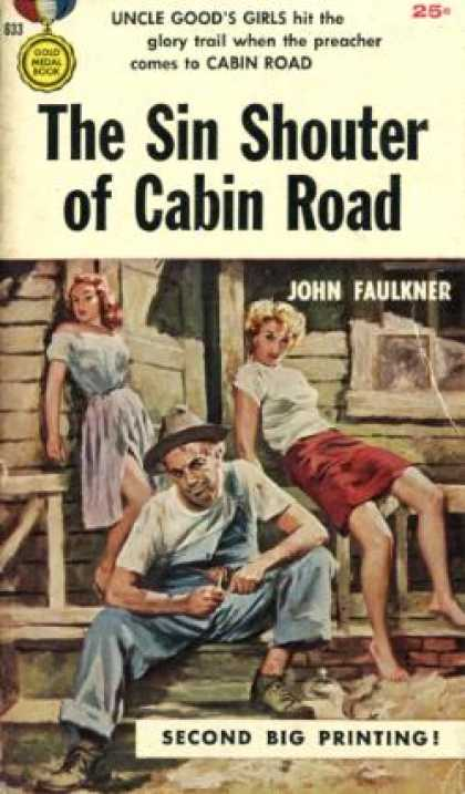 Gold Medal Books - The Sin Shouter of Cabin Road: An Original Gold Medal Novel - John Faulkner