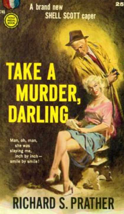 Gold Medal Books - Take a Murder, Darling - Richard S. Prather