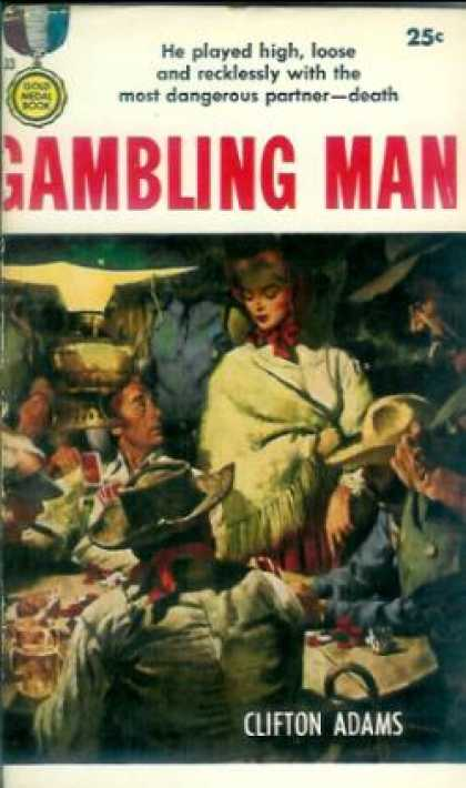 Gold Medal Books - Gambling Man