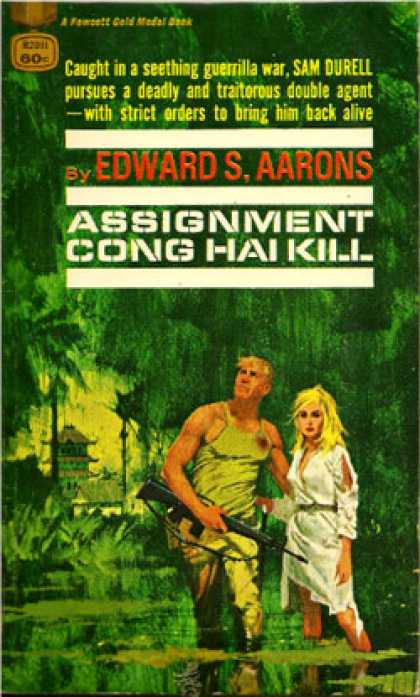 Gold Medal Books - Assignment Cong Hai Kill - Edward S. Aarons