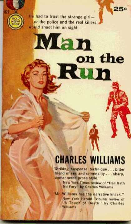 Gold Medal Books - Man On the Run