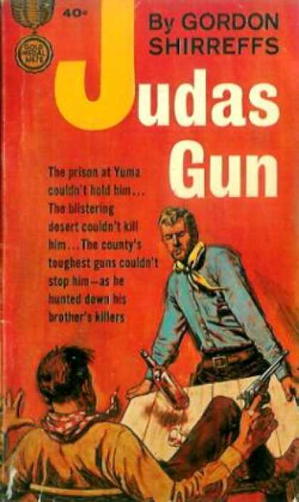 Gold Medal Books - The Judas Gun - Gordon D. Shirreffs