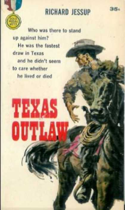 Gold Medal Books - Texas Outlaw - Richard Jessup
